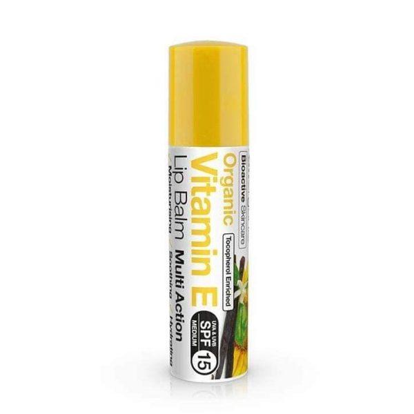Son Dưỡng Môi Dr.organic Vitamin E Lip Balm Spf15 5.7ml