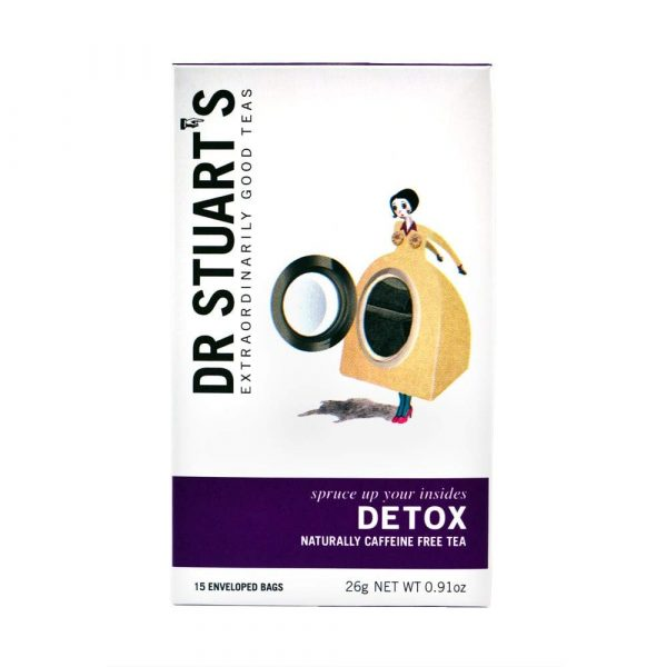 Trà Thảo Dược Dr Stuarts Detox 15 Tea Bags