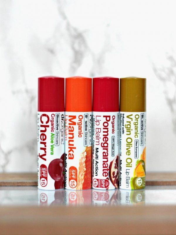 Son Dưỡng Môi Dr.organic Cherry Lip Balm Spf15 5.7ml