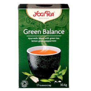Trà Hữu Cơ Yogi Tea Green Balance 17 Tea Bags