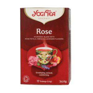 Trà Hữu Cơ Yogi Tea Rose 17 Tea Bags