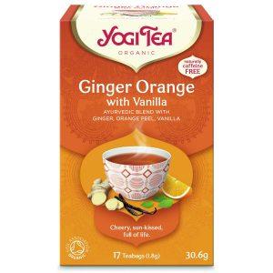 Yogi Tea Organic Ginger Orange