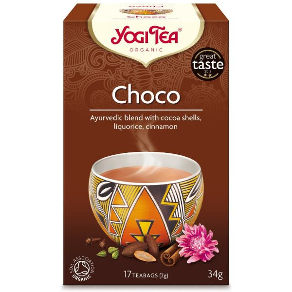 Trà Hữu Cơ Yogi Tea Choco 17 Tea Bags