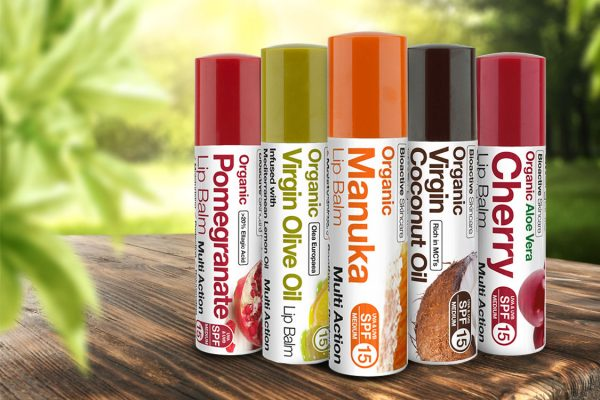 Son Dưỡng Môi Dr. Organic Moroccan Argan Oil Lip Balm Spf15 5.7ml