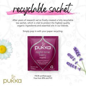 Pukka Night Time Berry Organic Herbal